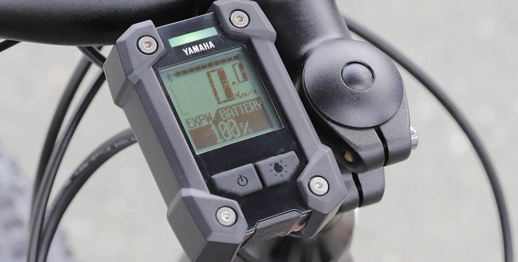 Compteur digital Yamaha YPJ-XC